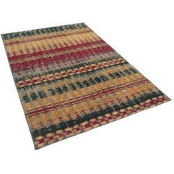 Dywan kolorowy 140 x 200 cm krótkowłosy MARMARIS