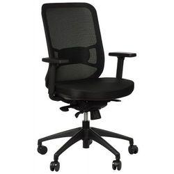 Krzesło obrotowe biurowe GN-310/CZARNY z wysuwem siedziska