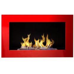 Biokominek Globmetal 650x400 czerwony połysk + GRATIS, Globmetal