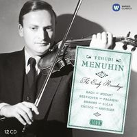 Icon - Sir Yehudi Menuhin - The Early Years (Limited)(12CD) (5099901928129)