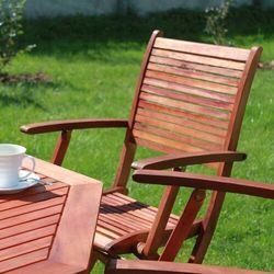 Krzesła Ogrodowe Akacja 2szt - Meble LIGURIA 55x60x95cm