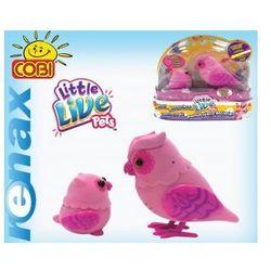 Little Live Pets Ptaszki Serduszkowa Rodzina od COBI - produkt z kategorii- maskotki interaktywne