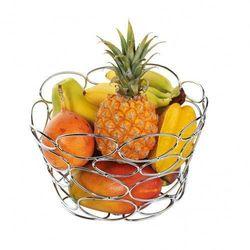 Cilio Giro kosz na owoce z chromowanego metalu, (4017166305227)