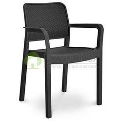 Krzesło ogrodowe SAMANNA antracytowy z kategorii Krzesła ogrodowe