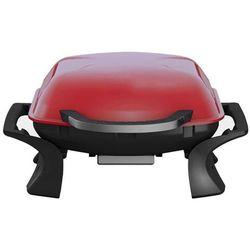 Qlima Przenośny grill na węgiel drzewny, 37x53 cm, czerwony, PC 1015