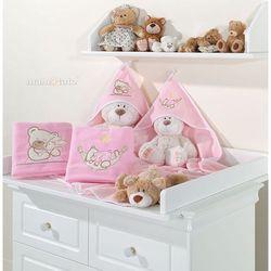 kocyk polarowy śpioch w hamaku w różu marki Mamo-tato