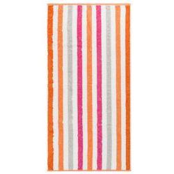 Cawo Frottier ręcznik kąpielowy Stripe pink, 70 x 140 cm