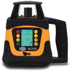Niwelator laserowy nl 310g zielona wiązka zestaw statyw + łata od producenta Nivel system