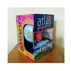 Szkolny atlas geograficzny z globusem - Praca zbiorowa, Demart