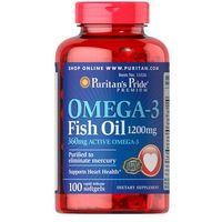 Olej rybi Omega3 1200mg Omega3 fish oil 100 kapsułek Puritan's Pride