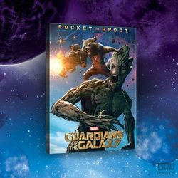 Consalnet Obraz guardians of the galaxy - rocket & groot ppd2129