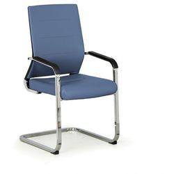 Krzesło konferencyjne elite, niebieski marki B2b partner