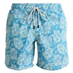 Sundaze CHASE MY SKULL Szorty kąpielowe turquoise, rozmiar od S do XL, niebieski