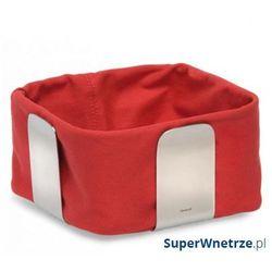 Bawełniany wkład do koszyka na pieczywo 25,5 cm desa czerwony marki Blomus