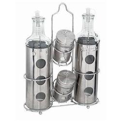 Komplet oliwa/ocet/sól/pieprz 500ml.
