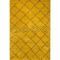 dywan royal mustard/grey 160x230cm, 160 × 230 cm marki Dekoria