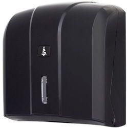 Linea Pojemnik na ręczniki papierowe składane w listkach master czarny pojemnik na ręczniki, dozownik do ręczników