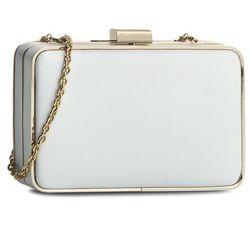 Torebka COCCINELLE - WN0 Leather Box Saffiano Bianco 010 - produkt z kategorii- Torebki