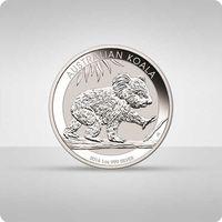 Australijska koala 1 oz srebra marki Perth mint