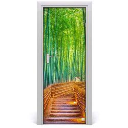 Fototapeta samoprzylepna na drzwi Las bambusowy