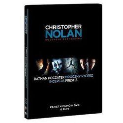 Film GALAPAGOS Pakiet reżyserski Christopher Nolan (6 DVD: Batman Początek, Mroczny Rycerz, Prestiż, Incepc