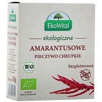 100g amarantusowe pieczywo chrupkie bezglutenowe bio marki Eko wital