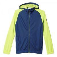 Bluza adidas Locker Room Quarter Theme Full Zip Hoodie Junior AJ5607