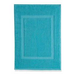 Mata łazienkowa hotelowa (2 szt.) bonprix niebieskozielony