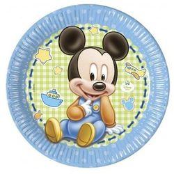 Talerzyki urodzinowe Mały Mickey - 23 cm - 8 szt. (5201184843444)