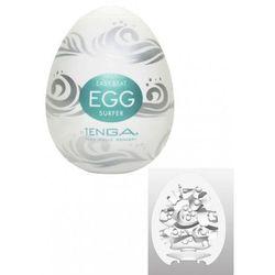 Tenga Egg Easy Ona Cap Surfer Turquoise Zestaw masturbatorów jednorazowych w kształcie jajka turkusowy 6 szt