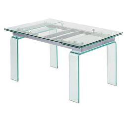 Stół szklany ATLANTIS CLEAR 200/300 - szkło (5900168808324)
