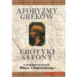 Aforyzmy Greków. Erotyki Safony., książka z kategorii Poezja