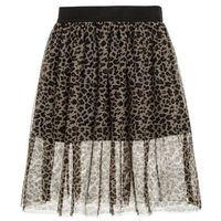 Name it NITREO LONG SKIRT Spódnica trapezowa black, kolor czarny