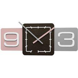 Zegar ścienny Sixty CalleaDesign antyczny-różowy, kolor różowy