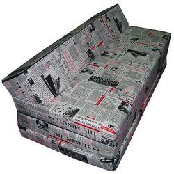 Sofa rozkładana - PRESS - produkt z kategorii- sofy