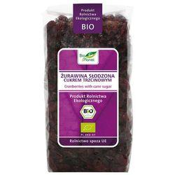 BIO PLANET 400g Żurawina słodzona cukrem trzcinowym Bio | DARMOWA DOSTAWA OD 200 ZŁ z kategorii Bakalie, or