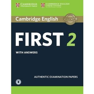 Cambridge English First 2. Student's Book with Answers + Audio