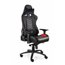 Uniquemeble Fotel gamingowy, biurowy, dynamiq v3, czarny, czerwony