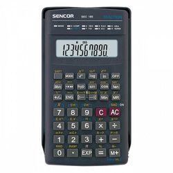 Sencor Kalkulator SEC 185, czarna, szkolny, 10 cyfr (8590669044733)