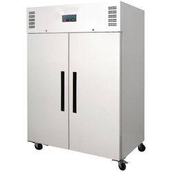 Polar refrigeration Szafa mroźnicza 2-drzwiowa | biała | 1200l | -10 do -20°c | 1340x815x(h)1990 mm