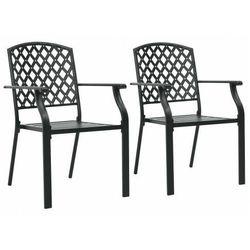 Elior Zestaw metalowych krzeseł ogrodowych - talas
