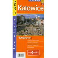 Katowice plan miasta (2012)