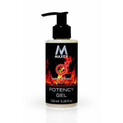 maxer Potency Gel 150ml - Żel na potencję erekcję - produkt z kategorii- Potencja - erekcja