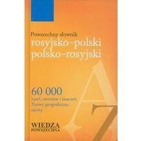 Powszechny słownik rosyjsko-polski polsko-rosyjski (706 str.)