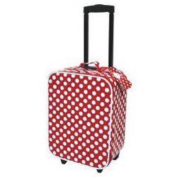 Stylowa czerwona walizka w kropki, marki JaBaDaBaDo do zakupu w Trendy Smyk
