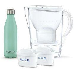 Brita Dzbanek filtrujący marella biała + 2 mx+ pp + butelka termiczna