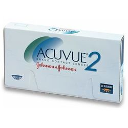 Soczewki johnson&johnson acuvue 2 6 szt wyprodukowany przez Johnson  & johnson