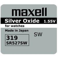 bateria srebrowa mini Maxell 319 / SR 527 SW z kategorii Baterie