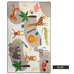 SELSEY Dywan do pokoju dziecięcego Dinkley Safari 140x190 cm