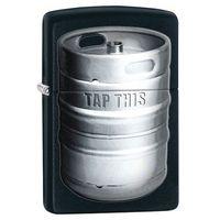 Zapalniczka ZIPPO Barrel, Black Matte (Z28665) - produkt z kategorii- Zapalniczki